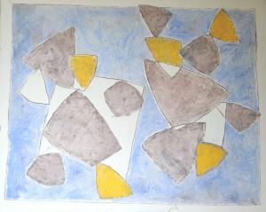 80. 1993.04. Petite nuit d'amour de passage dans le Cotentin. H.S.T. S.B.D. 100F. 162x130